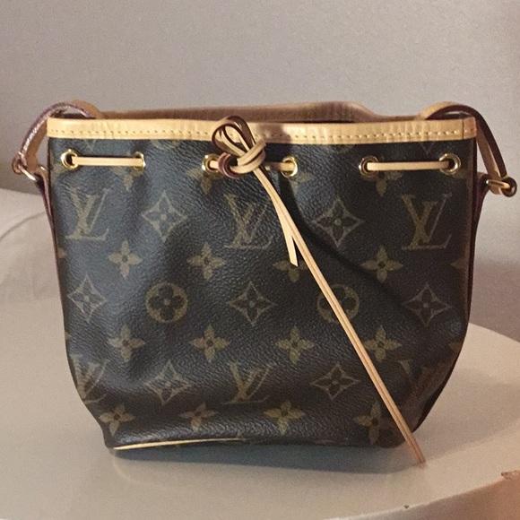 3755062e47ea Louis Vuitton Handbags - LV Nano Noe Bag